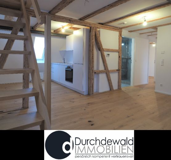 Moderne 2,5-Zi.-Dachgeschoss Wohnung in ruhiger Lage von Sillenbuch mit schönem Ausblick