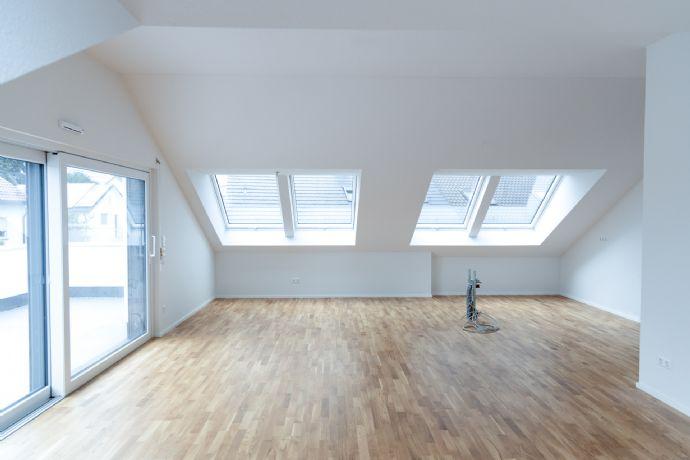 Wir verkaufen unsere Musterwohnung Dachterrassenwohnung