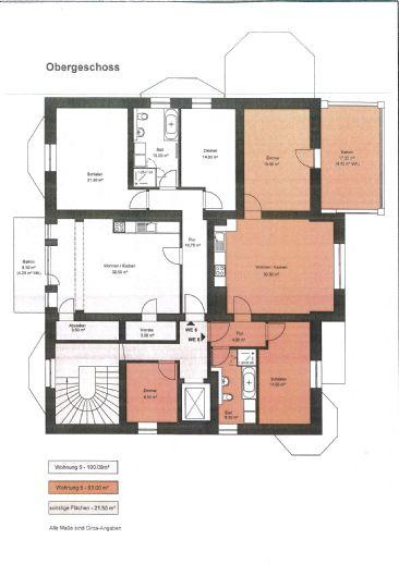 Exklusive 2 - 4 Zimmerwohnungen auf dem Werder, Wohnen in einer Villa