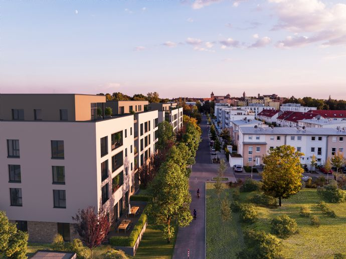 Zukunftsorientierte 3-Zimmer-Wohnung in ruhiger Wohnlage mit breitem Nahversorgungsangebot