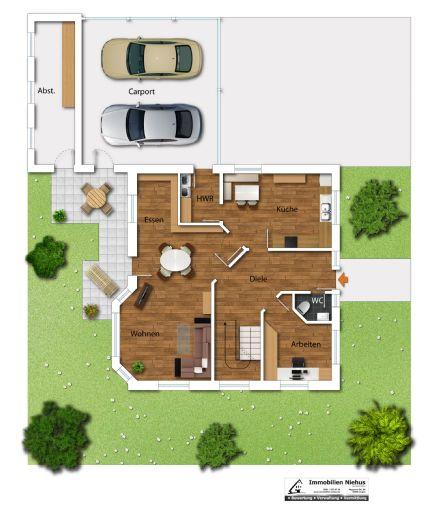 Freistehendes Einfamilienhaus in Thuine +++ Kapitalanlage +++