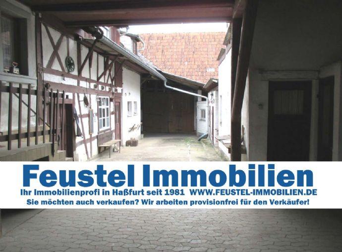 Hofheim OT - Fränkisches Anwesen mit viel Platz für Familie und Hobby!