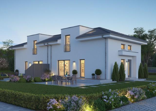 NEUBAU: Modernes Doppelhaus in Hamburg - Alle unter einem Dach