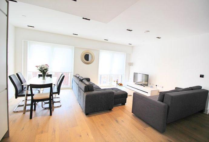 2-Zimmer-Wohnung mit 54,33 m² Wfl. im 1. Stock