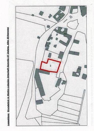 Großzügig geschnittenes Baugrundstück nördlich von Halle