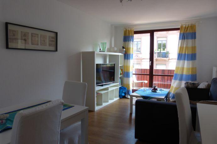 Ruhige möblierte 2-Zimmer Wohnung in Frankfurt Nordend