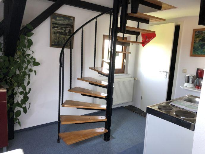 1-Zimmer maisonette Apartement 35 m/2 voll möbliert zu vermieten