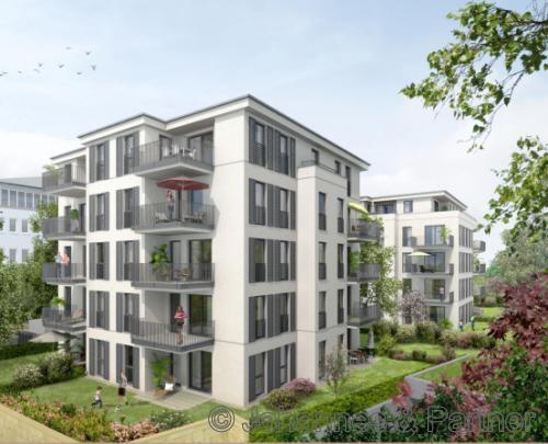 Erstbezug! Moderne 4 Zimmer-Wohnung im Herzen der Neustadt mit Balkon