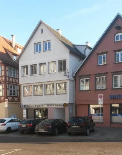 Neue 3,5- Zi.- Whg. im 1.OG  (Erstbezug), Wohnfläche 115 m²  /  Biberach- Marktplatz