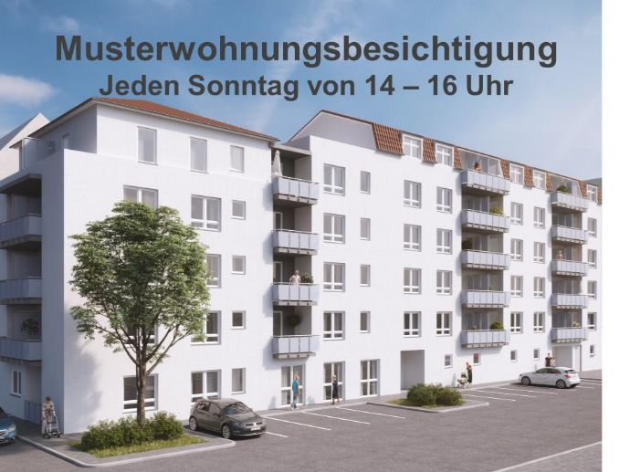 Neubau! 2-Zimmer-Senioren-Servicewohnung in Fürth!