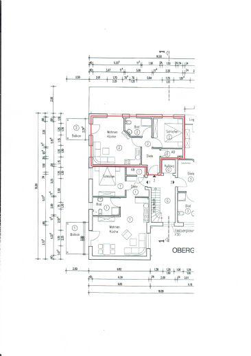 2 Zimer Wohnung barrierefrei - zentral