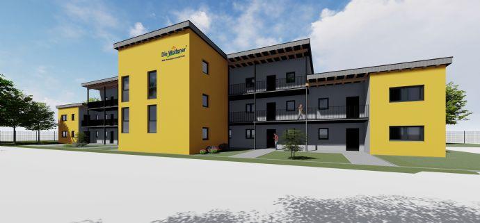 Schule, Kindergarten, Einzelhandel nur 5 Gehminuten - Große 4-Raumwohnung im Neubau zu vermieten