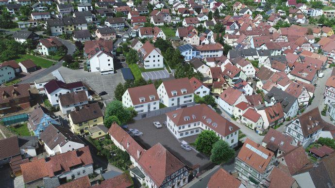 MAINHOF 14/16 ERLABRUNN- Wunderschöne Zweizimmerwohnung mit Balkon - Whg. A4