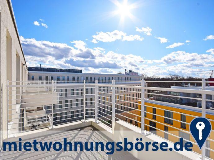 AIGNER - Ackermannbogen: Helle 4-Zimmer-Wohnung im Dachgeschoss