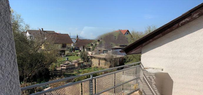Und manchmal ist Zukunft ganz einfach! Schöne 3 ZKB-Wohnung mit tollem Balkon!