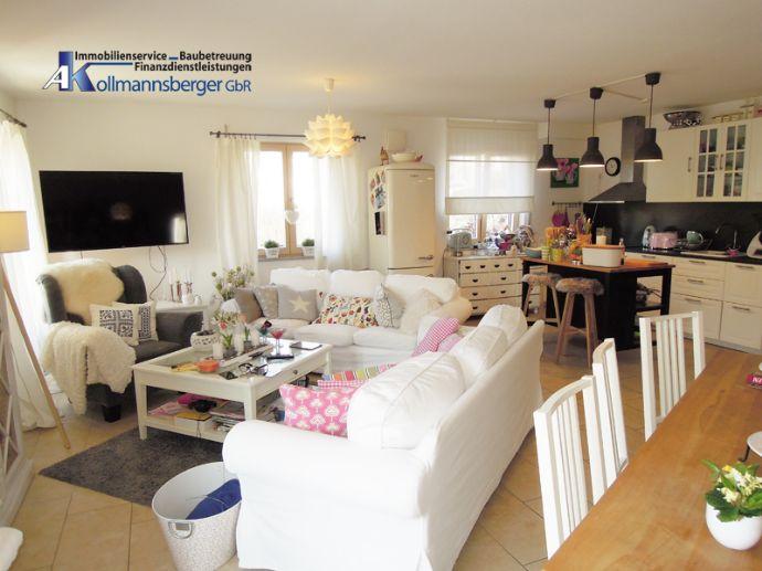* Wolnzach-Oberlauterbach *** TOP-moderne 3,5 ZKB EG-Wohnung * Südwest-Terrasse * ruhige Ortsrandlage