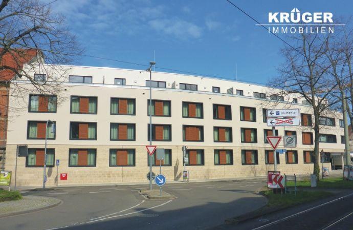 KA-Durlach / tolle 2-Zimmer-Penthouse-Wohnung mit Dachterrasse, EKB und Ausblick auf den Hengstplatz / barrierefreier Zugang