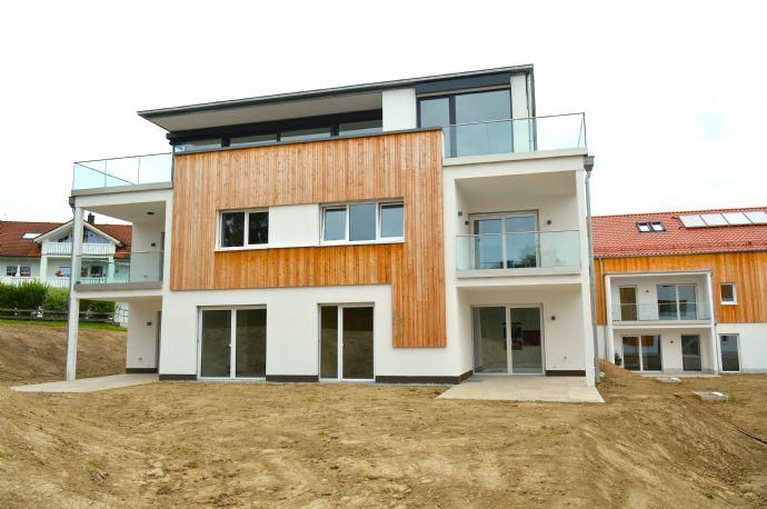 Herrliche 3-Zimmer-Neubauwohnung mit Balkon, Einbauküche und Tiefgarage in Bestlage