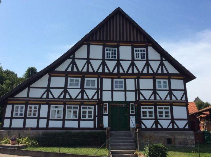 Sehr gepflegter Resthof mit Nebengebäuden, Weide & Bauland im Leinebergland