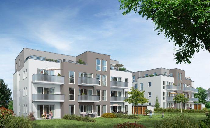 Komfortabel ausgestattete 3-Zimmer Wohnung mit sonniger Terrasse und Gartennutzung