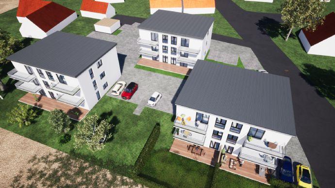 Neubau eines Wohnhauses mit sechs Wohnungen in Hirschaid
