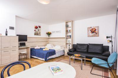 Garten Appartement - Appartements Ferchergasse R02