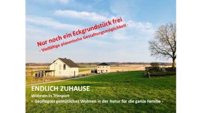 ENDLICH ZUHAUSE - 2 Eckgrundstücke noch frei – Starten Sie sofort – Ihr neues Baugrundstück im Grünen –
