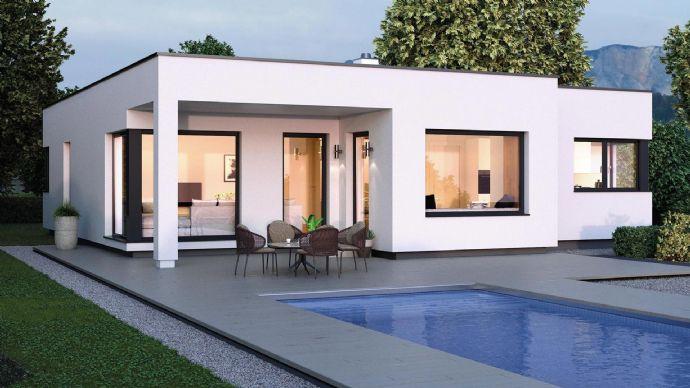 +#+#+ Moderner und chicer belagsfertiger ELK Bungalow 125 inkl. Grundstück und Bodenplatte! Wir begleiten Sie zu Ihrem Haustraum!+#+#+