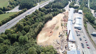 Nonnweiler Industrieflächen, Lagerflächen, Produktionshalle, Serviceflächen