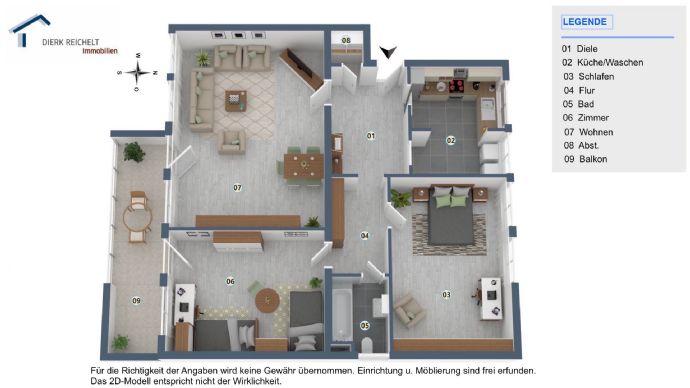 Wohnen am Viktoriapark Kronberg in komfortabler 3-Zimmer-Wohnung