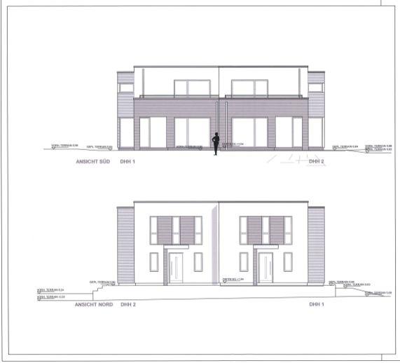 Neubau einer exklusiven Doppelhaushälfte in Sasel