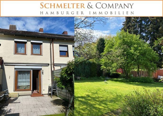 Schönes Reihenhaus mit großem, sonnigem Garten und Ausbaureserve im Dachgeschoss