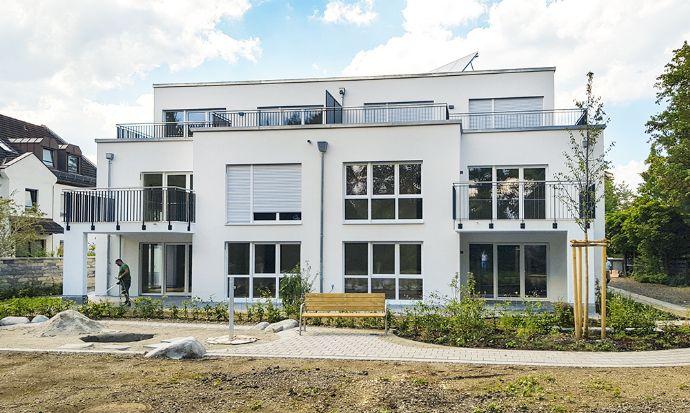 Neubau-Eigentumswohnung mit eigener Terasse und Garten