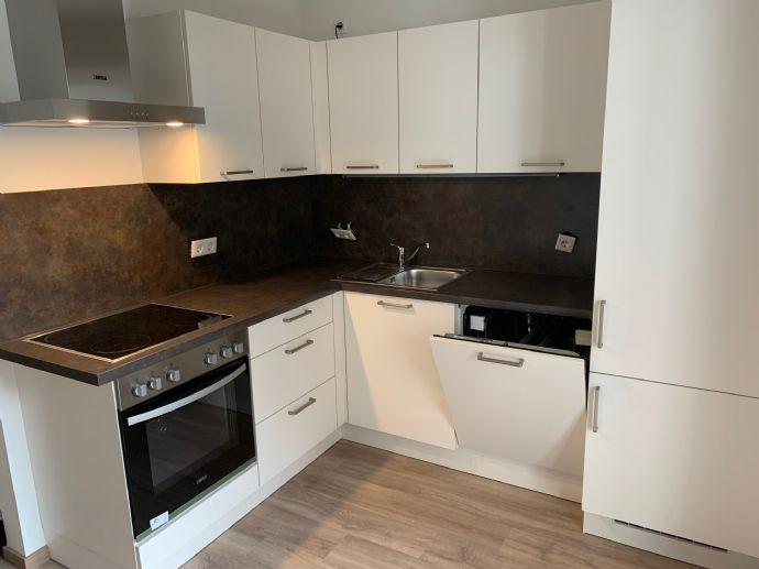 Maisonette-Wohnung mit Einbauküche