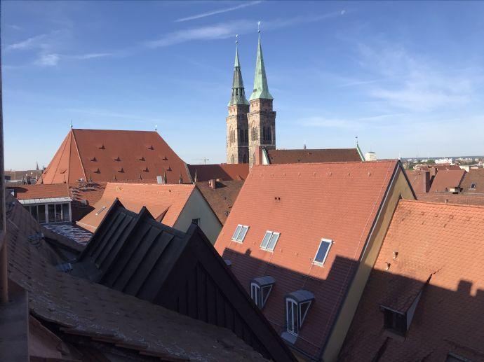 Wohlfühl-Oase im Herzen der Altstadt: Penthouse Maisonette Wohnung in traumhafter Lage an der Burg zu vermieten