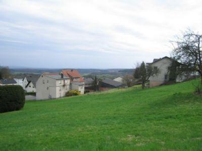 Grundstück in Hanglage, Fernblick über Fussingen 670 qm ca 30 m Frond