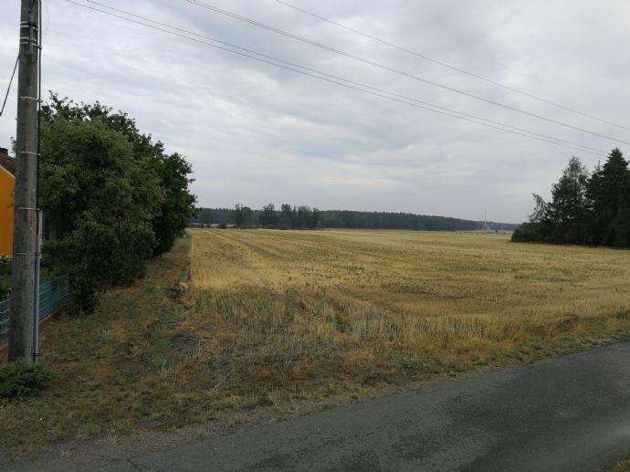 Großes Grundstück mit  Baugenehmigung zu verkaufen