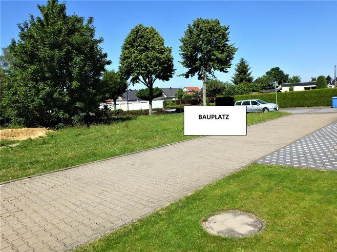 Rüthen-Oberstadt- geplanter Neubau eines Einfamilienhauses mit Garage