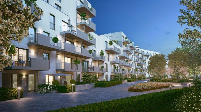 Viel Platz: 3-Zimmer-Wohnung mit großer Terrasse & Garten - Vis-à-vis Schloßpark Nymphenburg - NEU! (702)
