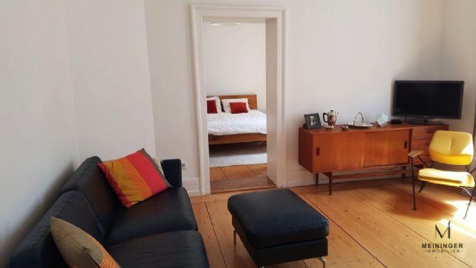 Altbau-Wohnung mit begehbarer Ankleide - Gehnähe zur Berger Straße + zur U-Bahn