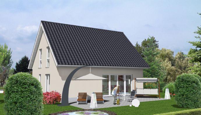 Im Alleinauftrag: Ludwigsfelde:(Groß Schulzendorf) geplantes Einfamilienhaus auf ruhigen Grundstück !!!