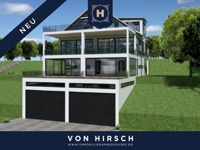 Neubau: Moderne Doppelhaushälfte SEEPANORAMA in Ludwigshafen (Bodensee)