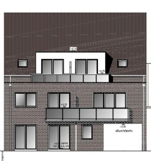 3-Zimmer-Neubauwohnung in Horstmar zu vermieten
