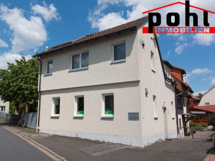 Energetisch saniertes Haus, in zentraler Stadtlage von Bad Rodach, 2 getrennte Einheiten!!!