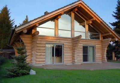 naturstamm blockhaus einfamilienhaus rekingen 265g949. Black Bedroom Furniture Sets. Home Design Ideas