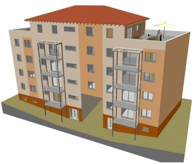 Hochwertige 2- Raum Wohnung Erdgeschoss mitten in Cottbus; Neubau in Ströbitz
