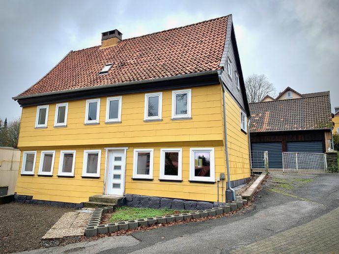 Zentral in CLZ, EFH, 400qm Wohn- und Nutzfläche mit Garagenhalle, Bürotrakt zu verkaufen