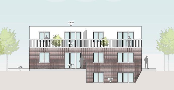 Neubau - Maisonettewohnung in ruhiger Wohnlage