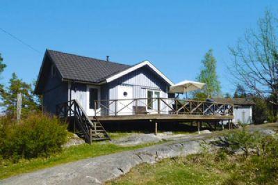 Ferienhaus in Vaxholm auf der Insel Tynningö Unterkunft