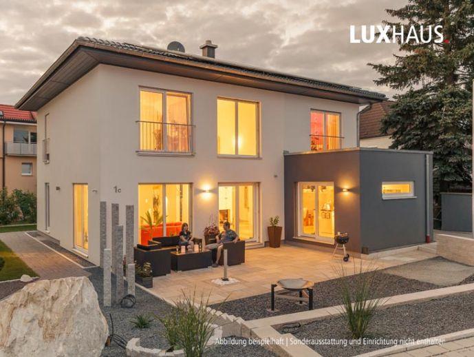 LUXHAUS Energiesparhaus - Wir bauen auch jetzt für Sie und sichern Ihre Zukunft!